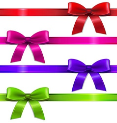 Big Set Ribbons vector image