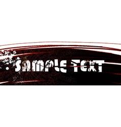 Grunge design banner vector