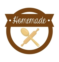 Homemade dessert recipe vector image