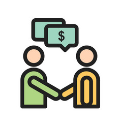 Payment discussion vector