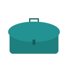 School bag icon vector