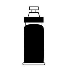 Water bottle sport or fitness related icon image vector