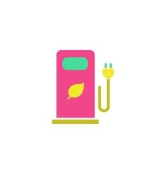 Bio gas Icon vector image