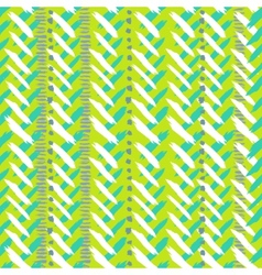 Chevron hand painted seamless pattern vector image