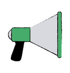 Speaker loud soung marketing promotion icon vector
