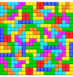 Tetris vector image vector image