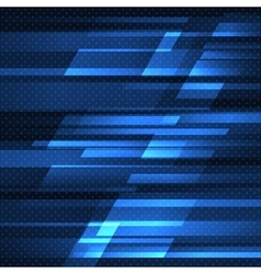 Abstract background with blue stripes vector