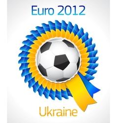 football badge symbol vector image