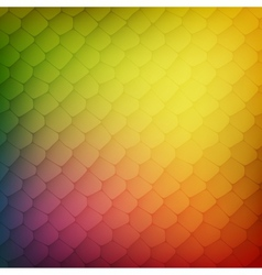 Abstract background of colored cells vector