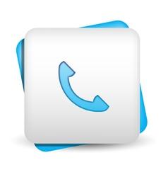 Contact Icon vector image