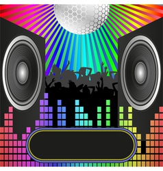 fun background vector image vector image