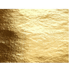 golden foil background vector image