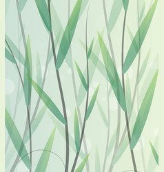 Lush thickets vector