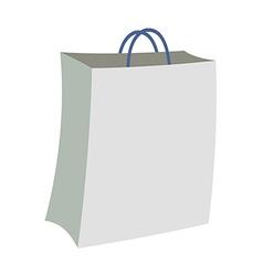 Paper shopping bag vector