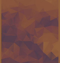 polygon background dark purple orange vector image vector image