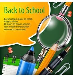 School concept vector image vector image