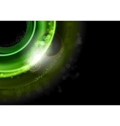 Background green dark vector