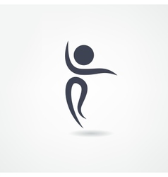 dancer icon vector image