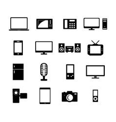 Electronic icon vector