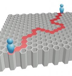 problem-solving vector image