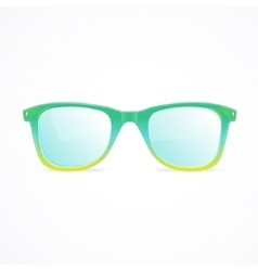 Glasses color vector