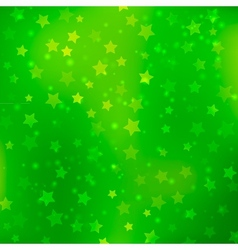 Abstract bokeh star background vector image