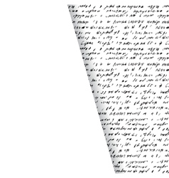 Background of abstract handwriting vector