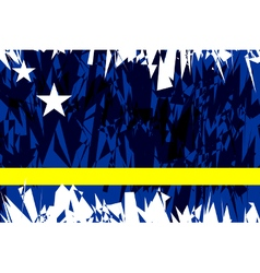 Flag of Curacao vector image