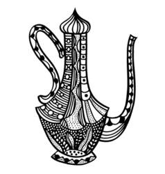 jug isolated vector image