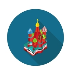 St basil is cathedral vector