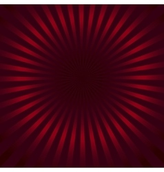 Red rays background vector
