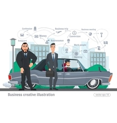 Business creative  businessman vector