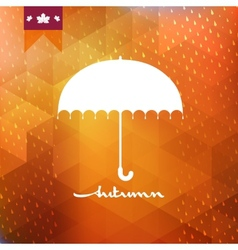 Abstract background with rain pattern eps 10 vector