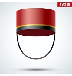 Bellboy Hat vector image