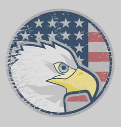 eagle american icon vector image