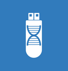 Icon dna memory vector