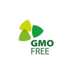 Logo gmo free vector