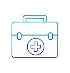 medical kit isolated icon vector image