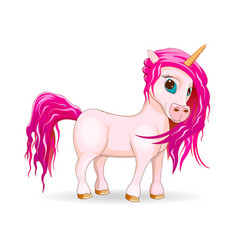 my lovely unicorn vector image