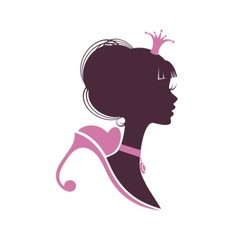 Portrait of a beautiful princess vector image vector image