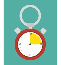 Timer game clock vector image
