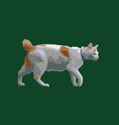 Walking cat vector
