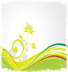 ecology company background  vector image