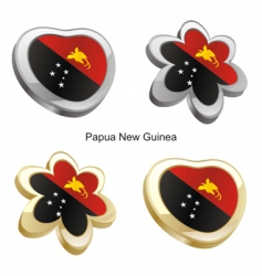 Papua new guinea map vector