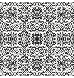 Black fantasy seamless pattern background vector