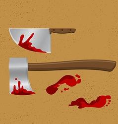 Bleeding knife2 vector