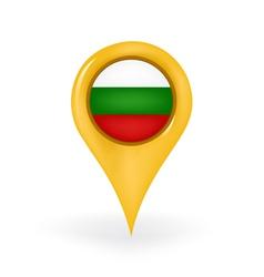 Location bulgaria vector