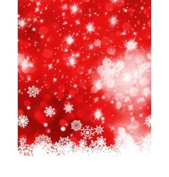 Multicolor christmas with snowflake EPS 8 vector image vector image
