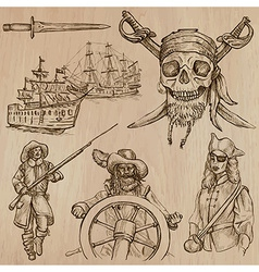 Pirates no5 - an hand drawn pack vector