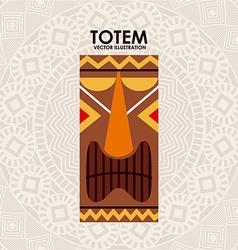 totem design vector image vector image